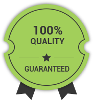 100% quality guarented in roofing